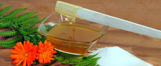 Honig: Gut für Haut und Haar